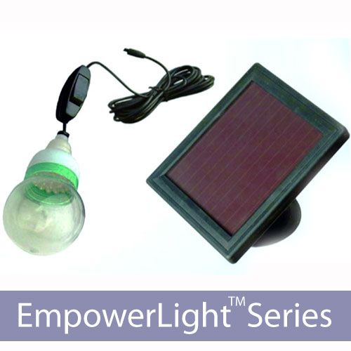 EmpowerLight 20 LED Solar Home Lighting Kit