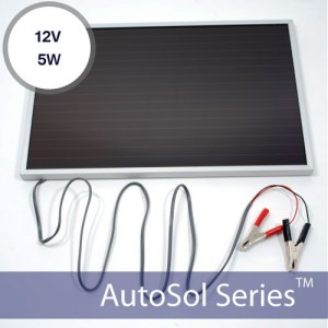 12v Solar Battery Charger 5W