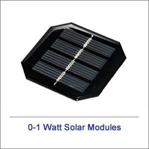 0-1 Watt Solar Modules