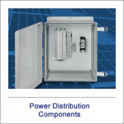 Solar Power Distribution Components