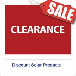Solar Blow-Out Deals