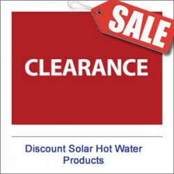 Discount Solar Hot Water Products