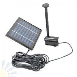 Night & Day Solar Fountain Pump Kit