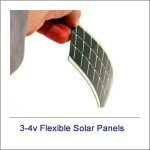 3v-4v Flexible Solar Panels