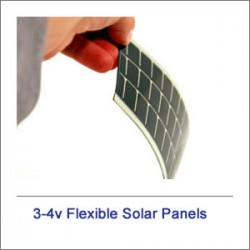3v-4v Flexible Portable Solar Panels