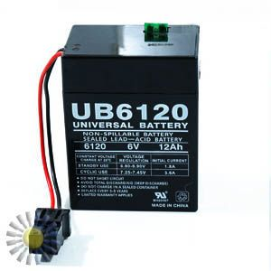 Sealed Lead Acid Batteries 6V 12AH