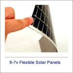 6v-7v Flexible Solar Panels