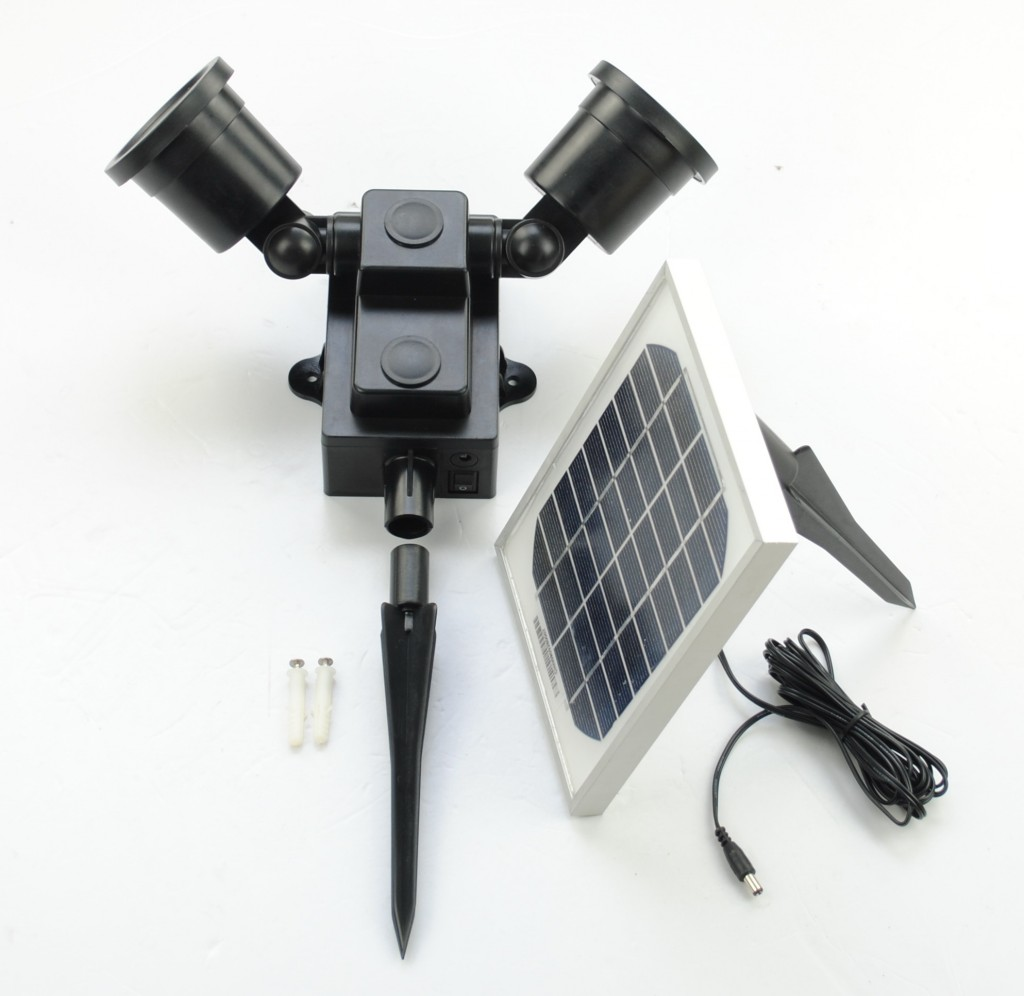 24 LED Solar Spotlight & Flood Light