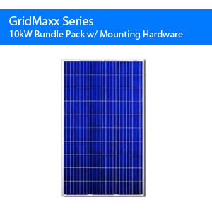 Gridmaxx 10kw Bundle Pack w/ Mounting