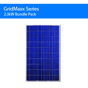 Gridmaxx 2.3kw Bundle Pack