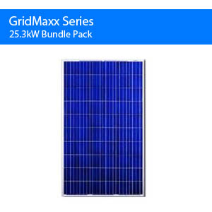 Gridmaxx 25.3kw Bundle Pack