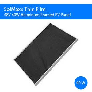40W Amorphous Solar Panel