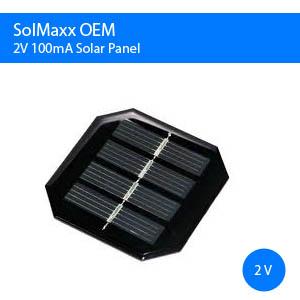 2V 100mA OEM Solar Panel