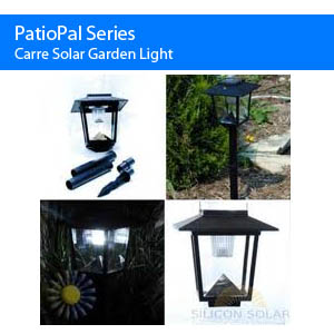Carre Solar Garden Light