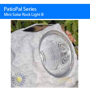 Mini Solar Rock Light B