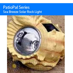 Sea Breeze Solar Spot Light