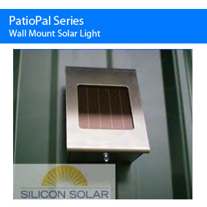 Solar Wall Mount Light