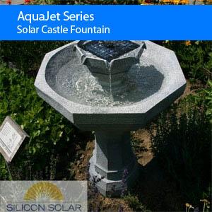 Solar Castle Fountain