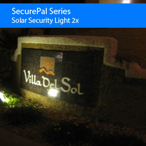 LED Solar Security Light