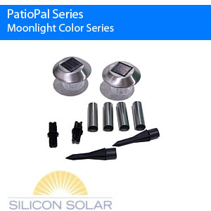 MoonLight Color Series Solar Garden Lights (4 Pack)