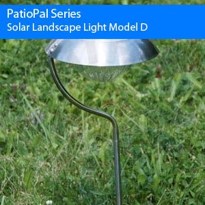 Solar Landscape Light – Model D (6 Pack)