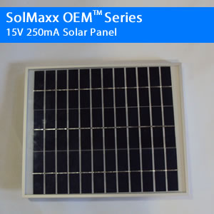 15V 250mA OEM Solar Panel