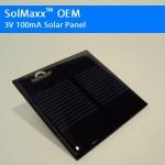 3V 100mA OEM Solar Panel