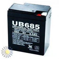 Sealed Lead Acid Batteries 6V 8.5AH