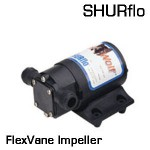 3000 Flex Vane Premium 12 VDC Impeller Pump