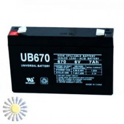 Sealed Lead Acid Batteries 6V 7AH