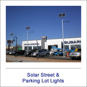 Solar Street & Parking Lot Lights