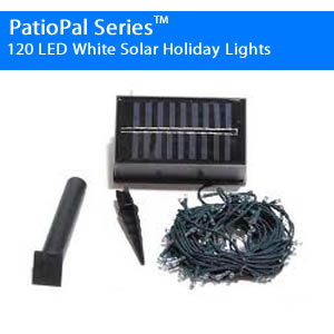 102LED White RV Solar Awning Lights