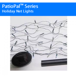 PatioPal Series Holiday Net Lights