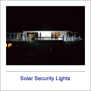 Motion Sensor Solar Security Lights