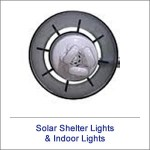 Solar Shelter Lights & Indoor Lights