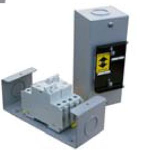 Dual 50 amp 240VAC Transfer Switch