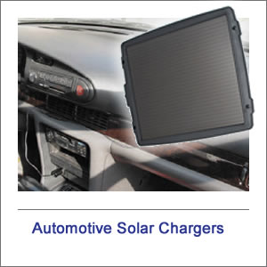 Solar Automotive Trickle Battery Chargers