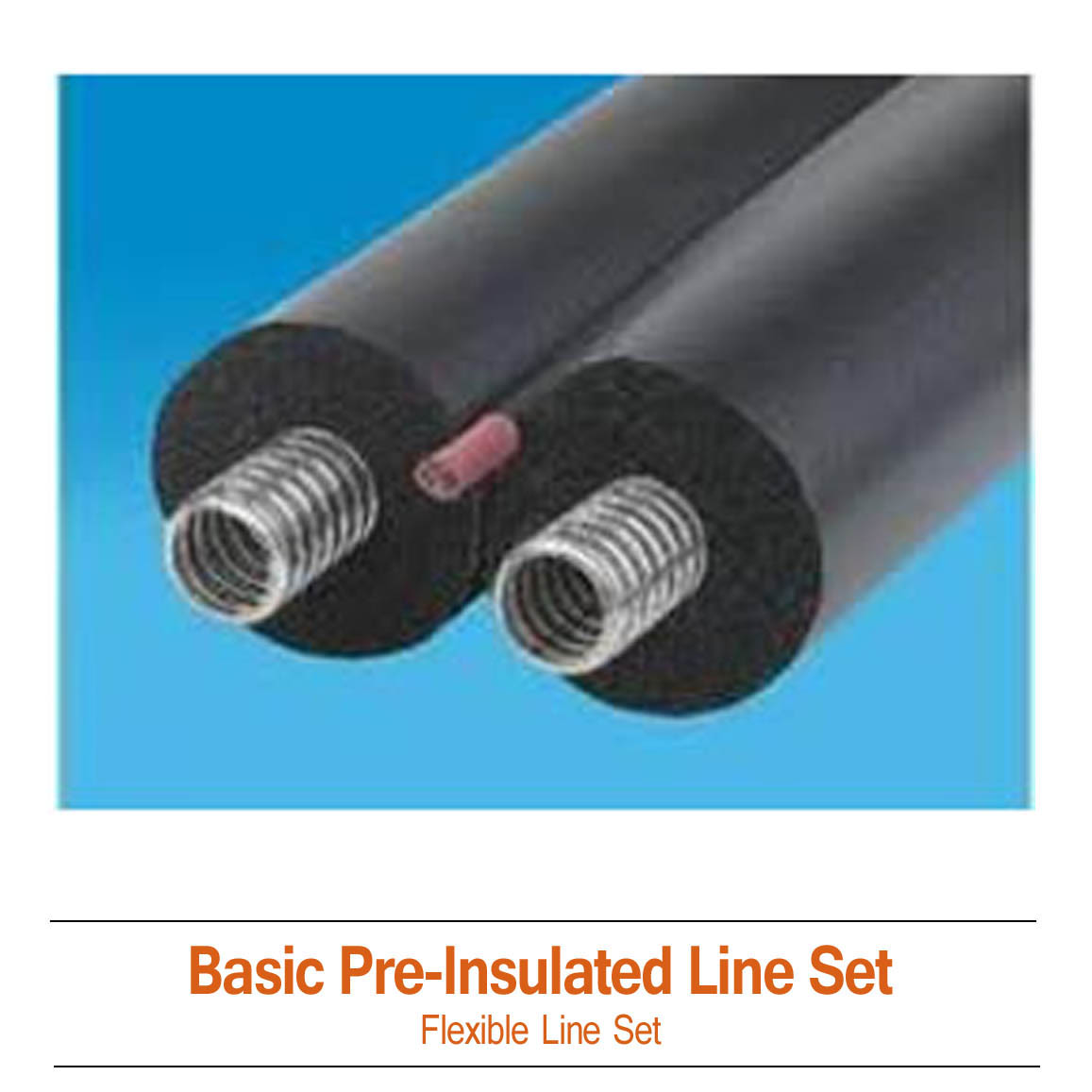 Basic Pre Insulated Solar Line Set