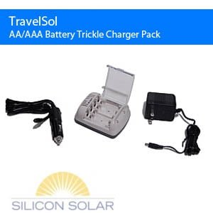 AA/AAA Battery Trickle Charger Pack