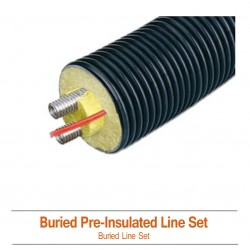 Buried Pre-Insulated Solar Hot Water Line Set