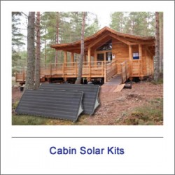 Off Grid Cabin Solar Kits