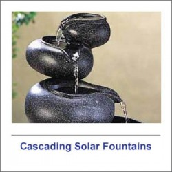 Cascading Solar Fountains