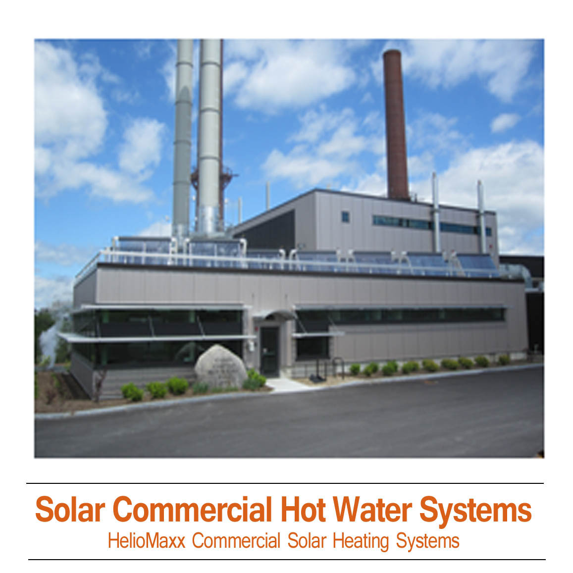 Commercial Solar Hot Water & Heating Kits