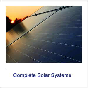 Complete Solar Systems & Kits