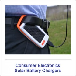 Consumer Electronic Solar Chargers