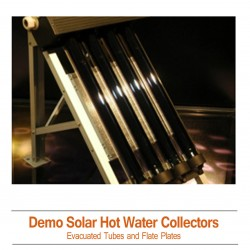 DEMO Solar Hot Water Collectors