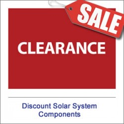 Discount Solar System Components
