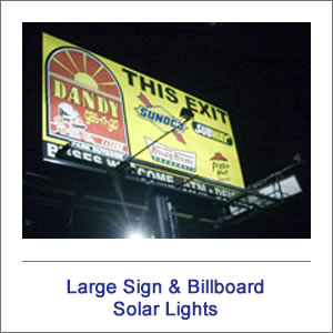 EnviroLight Large Solar Sign Lights