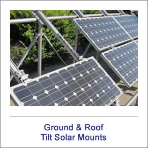 Tilt Solar Panel Mounting Hardware