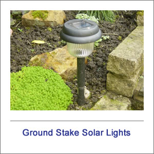 Ground Stake Solar Lighting